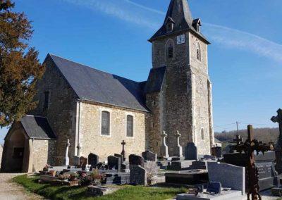 Eglise, Villy-Bocage, 2019