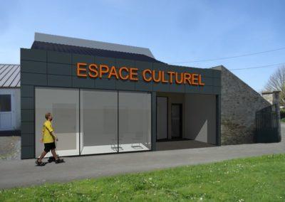 Le futur espace culturel de Villy-Bocage