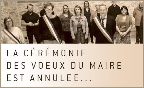 Annulation des voeux du Maire 2021 à Villy-Bocage