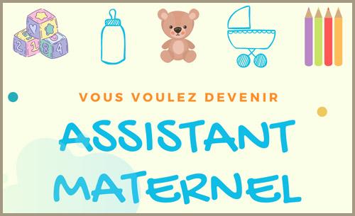 Vous voulez devenir Assistant(e) Maternel(le) ?