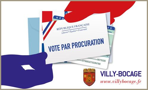 Elections 2021 : voter par procuration