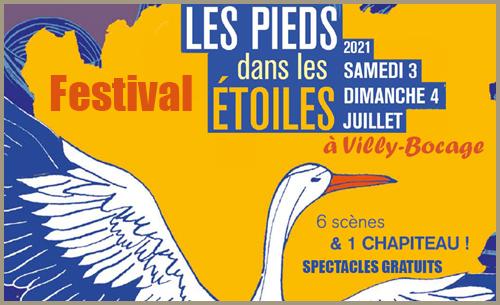 le Festival 'Les Pieds dans les Etoiles' s'installe 2 jours à Villy